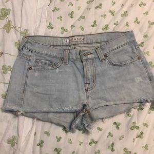 j brand jean shorts 26